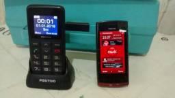 vendo dois celular funcionando perfeitamente