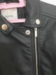 Jaqueta/casaco de couro
