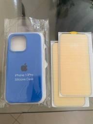Título do anúncio: Case e película IPhone 13 pro