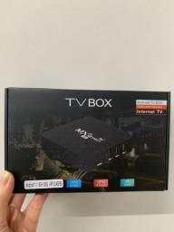 Título do anúncio: Tv Box Mxq 8Ram 128GB