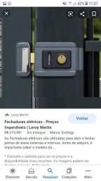 Manutenção e escalação de fechaduras elétricas