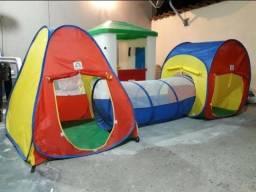 Título do anúncio: Toca infantil com túne 3 em 1- Barraca nova na caixa