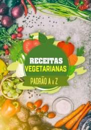 Livro Receitas Vegetarianas do A ao Z