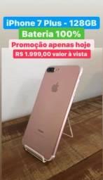 Título do anúncio: iPhone 7 Plus - 128GB