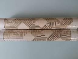Papel de parede vinilico lavável importado
