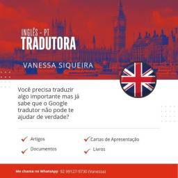 Título do anúncio: Serviços de tradução