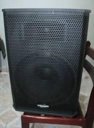 """Título do anúncio: Kit caixas acústicas ativas e passiva linha Saga 15"""""""