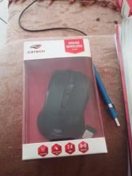 Mouse C3Tech M-W20BK, Wireless, 1000 dpi em estado de Novo