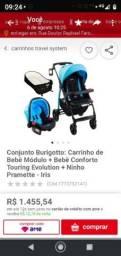 Título do anúncio: Carrinho Burigotto kit completo