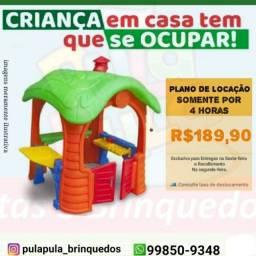 Título do anúncio: Aluguel de Casinha Petit - O brinquedo ideal para seu filho (a)