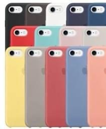 combo apple (case + película 3d + tomada iphone type c + fone p/iphone)