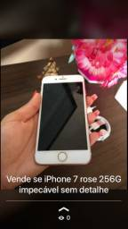 iPhone 7Rose 256G impecável