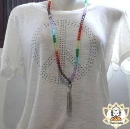 Japamala 108 contas acrílico Colors