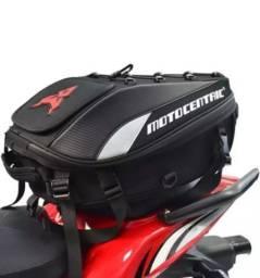bolsa baú bag impermeável para moto
