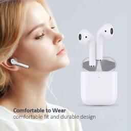 Fone de Ouvido Sem Fio Bluetooth Inpods 12 Case Magnético