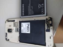 Título do anúncio: Samsung J4 dourado usado