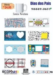 Dia dos Pais Caneca de porcelana personalizada Vários Modelos