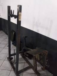Cadeira extensora, faltando só a carga 500