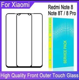 vidro frontal para Xiaomi Redmi Note 8