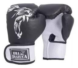 Par Luva De Boxe Muay Thay NOVA 12OZ / 14OZ