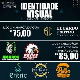 Título do anúncio: Identidade Visual   Logotipo.