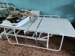 Cama hospitalar conforto Motorizada Semi Luxo 3 Movimentos