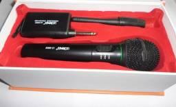 Microfone sem Fio Profissional Igreja palestra Músico