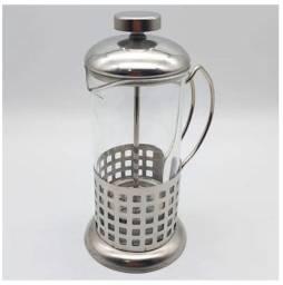 Cafeteira italiana inox com vidro nova ENTREGAMOS