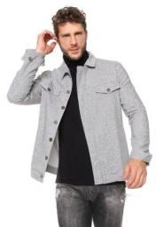 Jaqueta masculina cinza