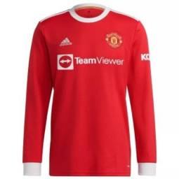 Título do anúncio: Camisa Manchester United Manga Longa