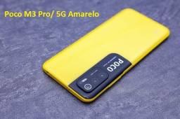 Título do anúncio: Poco M3 Pro/ 5G 128GB/6ram Amarelo