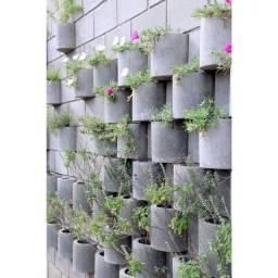 jardineira concreto, jardim vertical, jardineira suspensa, jardinagem