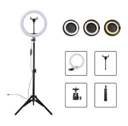 Título do anúncio: Ring Light Led Completo Iluminador Portátil