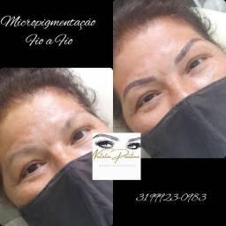 Título do anúncio: Micropigmentacao de sobrancelhas