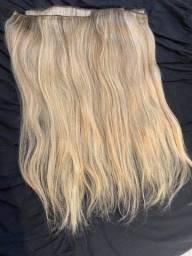 Título do anúncio: Megahair loiro cabelo natural