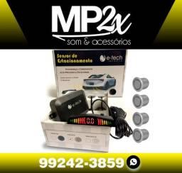 Título do anúncio: Sensor de estacionamento de ré digital 4 sensores universal