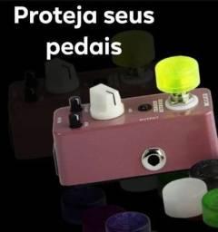 Kit 5 protetor de Pedais Guitarra Baixo (Entrega grátis Goiânia e região)