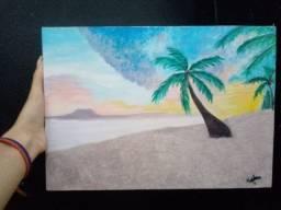 Título do anúncio: Quadro A Praia