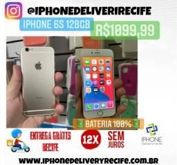 Título do anúncio: Iphone 6S 128gb Gold (12 x Sem Juros) Entrega Grátis