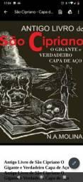Livro negro são Cipriano PDF capa de aço original