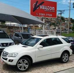 Mercedes-benz Ml-350 2011 branca teto revisada emplacada