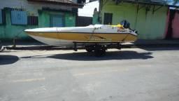 Lancha 17,5 Pés, Motor Jonhson 90 Hp - 2012