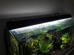 Luminária para aquários (caseira)