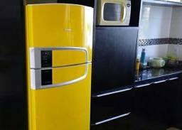Envelopamento de geladeiras e fogão