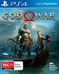 Game - God of War IV PS4 ( Mídia Digital)