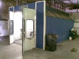 Cabine de pintura / estufa automotiva