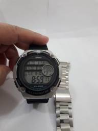 Relógio Casio Word time duplo