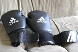 2cb54308a Luva De Boxe Adidas Speed 50 - Preta - 12 Oz (pouquíssimo uso)