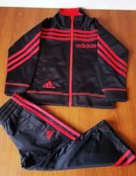 Conjunto Adidas Calça e Casaco