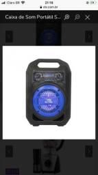 Caixa de Som Portátil Sumay Gallon Music SM-CSP1301 Bluetooth *Novo na caixa
